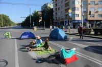 снимка 10 Центърът на София под блокада в 22-ия ден на протести (Обзор)