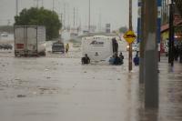Армията се включи в преодоляване на последствията от урагана Хана в Мексико