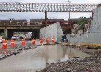 снимка 3 Наводнения, боклуци и разрушени пътища след урагана Хана в Мексико (Снимки)