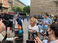 Мая Манолова запали протоколи от изборите пред ЦИК