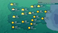 Опасно горещо време: Температурите ще са до 40 градуса