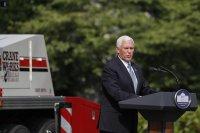 Вицепрезидентът на САЩ претърпя лека катастрофа