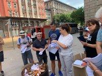 снимка 8 Мая Манолова запали протоколи от изборите пред ЦИК