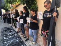 """Автошествието на майките от """"Системата ни убива"""" пристигна в Банкя"""