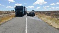 Шофьор загина след тежка катастрофа между кола и ТИР край Карнобат