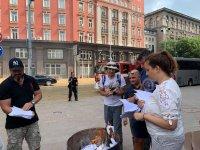 снимка 7 Мая Манолова запали протоколи от изборите пред ЦИК