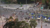25-и ден на протести в София. Кръстовищата при Орлов мост и СУ остават блокирани