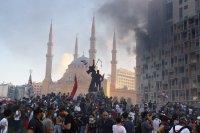 снимка 5 Ал Джазира: Над 700 ранени при протестите в Бейрут (Снимки)