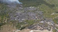 Пожарът край Шумен в локализиран