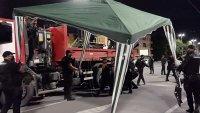 МВР разпространи кадри от акцията срещу палатките в София