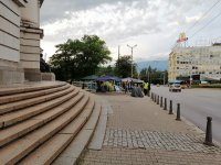 Полиция и жандармерия премахнаха палатковите лагери