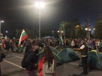 снимка 6 30-и ден на протести в София - нови блокади на Орлов мост, Министерския съвет и Ректората (ОБЗОР)