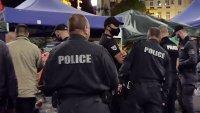 снимка 10 Полиция и жандармерия премахнаха палатковите лагери