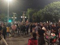 снимка 3 30-и ден на протести в София - нови блокади на Орлов мост, Министерския съвет и Ректората (ОБЗОР)