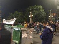 снимка 5 30-и ден на протести в София - нови блокади на Орлов мост, Министерския съвет и Ректората (ОБЗОР)