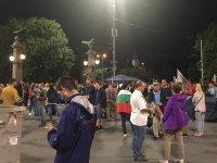 снимка 7 30-и ден на протести в София - нови блокади на Орлов мост, Министерския съвет и Ректората (ОБЗОР)