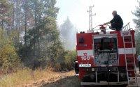 Продължава участието на военнослужещи в гасенето на пожарите в Хасковско