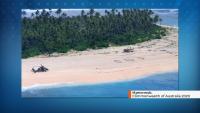 Трима моряци спасени благодарение на надпис SOS на плажа