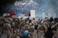 снимка 3 Ал Джазира: Над 700 ранени при протестите в Бейрут (Снимки)