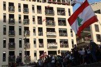 снимка 8 Ал Джазира: Над 700 ранени при протестите в Бейрут (Снимки)