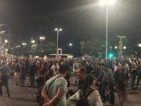 снимка 1 30-и ден на протести в София - нови блокади на Орлов мост, Министерския съвет и Ректората (ОБЗОР)