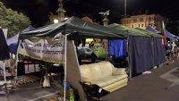 снимка 2 Полиция и жандармерия премахнаха палатковите лагери