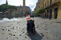 снимка 4 Ал Джазира: Над 700 ранени при протестите в Бейрут (Снимки)