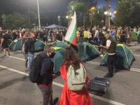 снимка 4 30-и ден на протести в София - нови блокади на Орлов мост, Министерския съвет и Ректората (ОБЗОР)