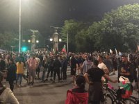 снимка 2 30-и ден на протести в София - нови блокади на Орлов мост, Министерския съвет и Ректората (ОБЗОР)