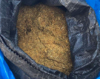 Полицаи иззеха 50 кг нелегален тютюн от кола на русенец