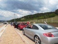 """Протестно автошествие тръгна към граничния пункт """"Калотина"""""""