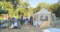 Палатките пред Община Варна са вече в пешеходната зона