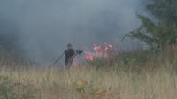 Нов пожар край Хасково