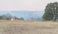 Потушен е пожарът в Хасковско, огънят унищожил над 500 дка
