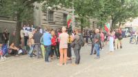 Протестиращи искат оставката на правителството и ЦИК