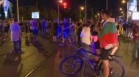 36-и ден на протест в столицата: Блокираха движението и при Румънското посолство