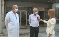 Спешната помощ в Благоевград работи нормално, въпреки ръста при заразените медици