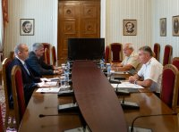 Президентът Радев се срещна с началника на отбраната адм. Ефтимов