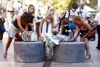 Почетоха паметта на жертвите от атентата в Барселона преди три години