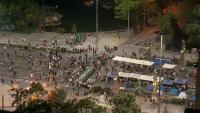 "41-ви ден на протести в София: Издигнаха ""паметник на свободата"" на Орлов мост"
