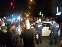 """Трима задържани след напрежение между майка с деца и протестиращи на бул. """"Ситняково"""""""
