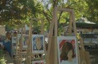 Френски художник реди благотворителна изложба във Варна