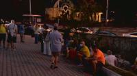 Протест срещу блокадите в София пред Румънското посолство