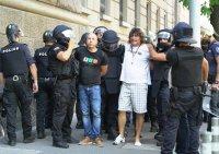 СДВР: Ако напрежението ескалира, полицейските служители ще използват сила