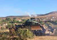 Продължава да бушува пожар в Сливенско