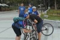 "Над сто колоездачи се включиха във велопохода по маршрута ""Дунав ултра"""
