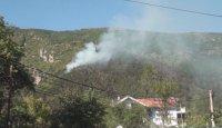 Борова гора пламна над Карлово