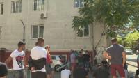 Шофьори на протест пред полицията в Дупница