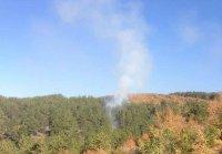 Локализиран е големият горски пожар в Сливенско