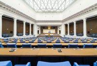 Поглед отвътре: Как изглежда новата сграда на Народното събрание